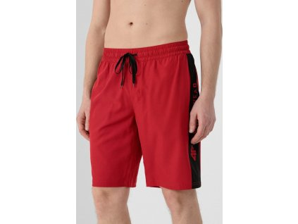 Pánske kúpacie šortky 4F SKMT005 červené