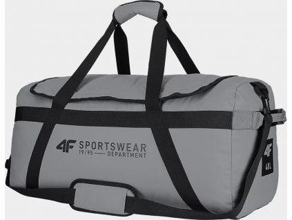 Športová taška 4F TPU007 sivá