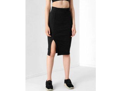 Dámská pletená sukně 4F H4Z21 SPUD011 černá 02