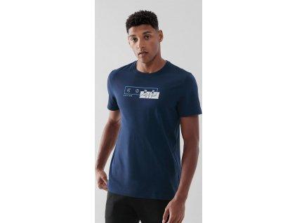 Pánske tričko 4F TSM021 Modré