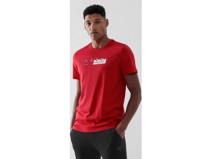 Pánske tričko 4F TSM021 Červené