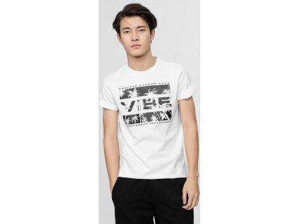 Pánske tričko 4F TSM026 Biele