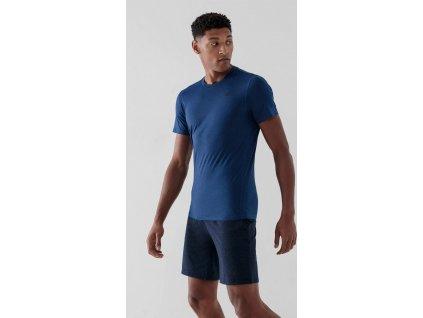 Pánske funkčné tričko 4F NOSH4-TSMF352 Tmavo modré