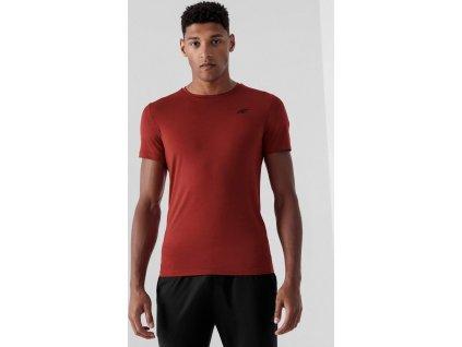 Pánske funkčné tričko 4F NOSH4-TSMF352 Červené