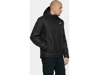 Pánska zimná bunda 4F KUM351 čierna