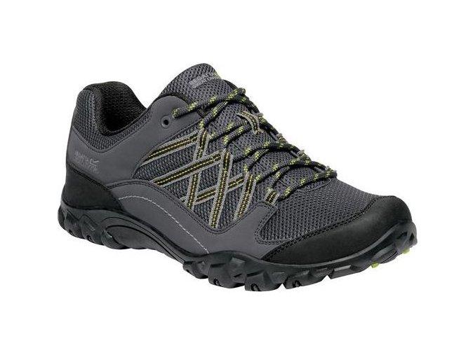Pánska treková obuv REGATTA  RMF617  Edgepoint III Sivá