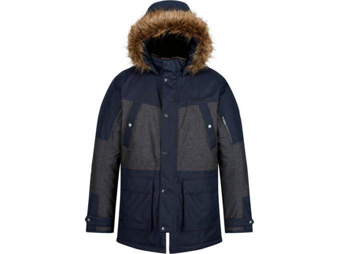 Pánska zimná bunda RMP260 REGATTA Aalto Tmavomodrá