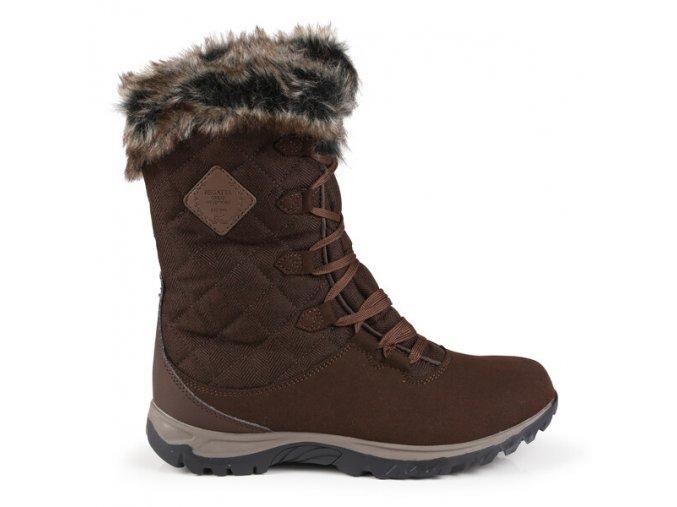 Dámské zimní boty RWF636 REGATTA Newley Hnědé