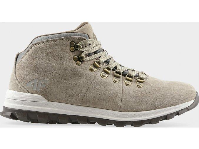 Pánska vychádzková obuv 4F OBMH204 Svetlo hnedá