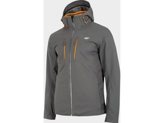 Pánska lyžiarska bunda 4FPro KUMN011 Sivá