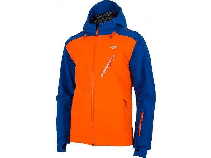 Pánska lyžiarska bunda 4F KUMN013 Modrá