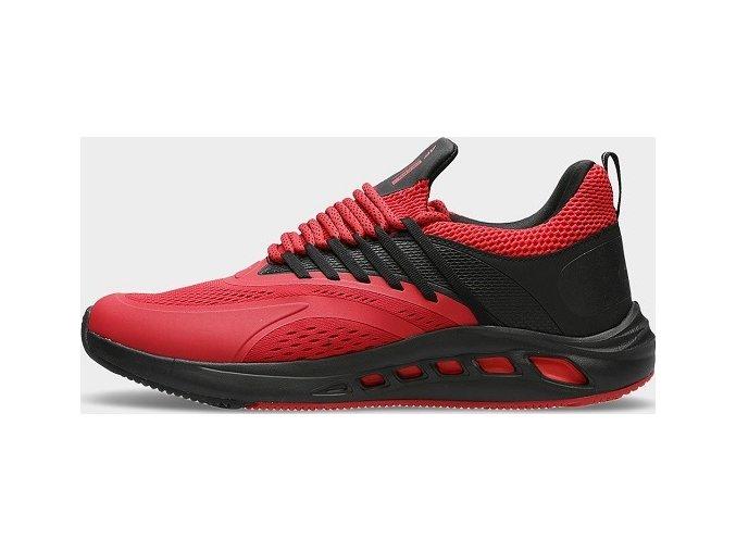 Pánske bežecké topánky 4F OBMS102 Červená