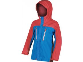 Detská bunda Regatta RKW197 Hipoint Str III  Oranžová/modrá