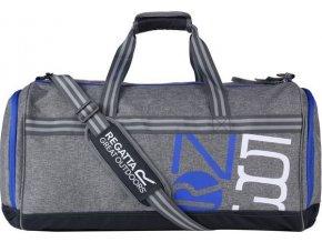Cestovná taška Regatta EU169 BURFORDDUFFLE 60L Sivá
