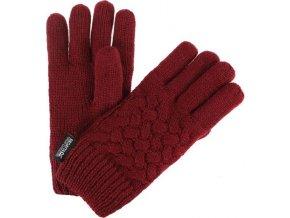 Dievčenské rukavice Regatta RKG045 MERLE Vínová