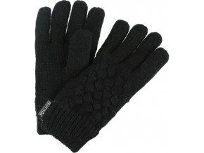 Dievčenské rukavice Regatta RKG045 MERLE Čierna