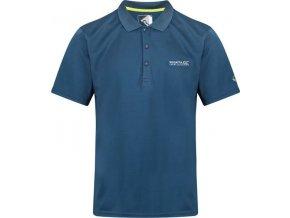 Pánske funkčné POLO tričko Regatta RMT169 Maverick IV Modré