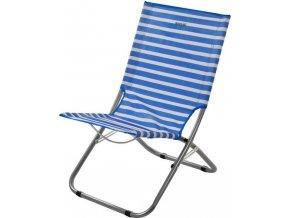 Ľahká skladacia stolička RCE242 REGATTA Kruza Bch Lounger Modrá