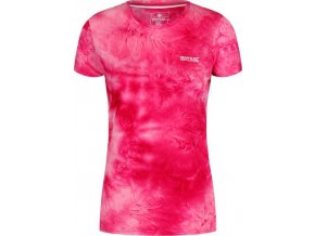 Dámske funkčné tričko RWT180 REGATTA Fingal IV Ružové