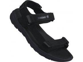 Pánske sandále DMF334 DARE2B Xiro Sandal Čierne