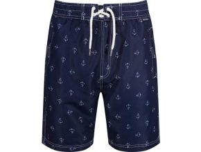 Pánske šortky / plavky REGATTA  RMM008  Hadden Board Shorts II Tmavomodré