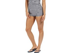 Dámský spodný diel plaviek RWM007 Aceana Bikini Short Modrý prúžok
