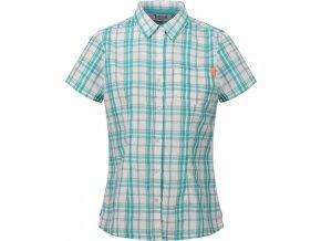 Dámska košeľa REGATTA RWS100  Mindano IV Zelená