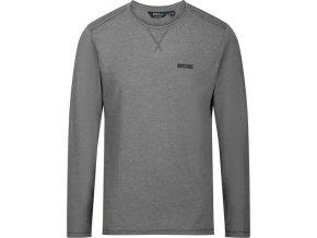 Pánske tričko REGATTA RMT171 Karter Sivé