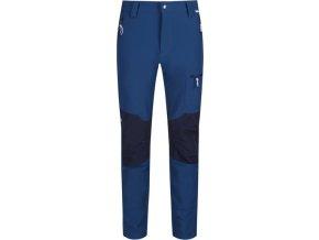 Pánske outdoorové nohavice Regatta RMJ225R Questra II Tmavomodré