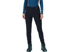37967 damske outdoorove nohavice regatta rwj193r pentre tmavo modre