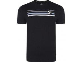 Pánske tričko DMT489 DARE2B Strife Tee Čierne