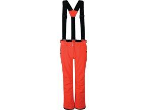 Dámske lyžiarske nohavice DARE2B DWW460 Effused Oranžové