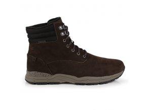 Pánské zimní boty RMF625 REGATTA Grafton Hnědé