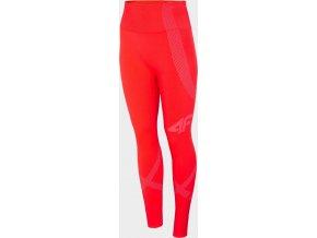 Dámské termo kalhoty 4F BIDB100D Červené