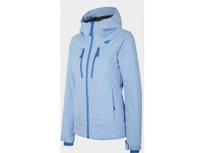 Dámska lyžiarska bunda 4F KUDN251A modrá