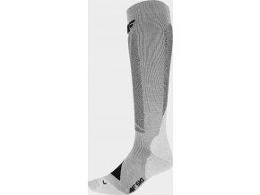 Pánske lyžiarske ponožky 4F SOMN202 Sivá