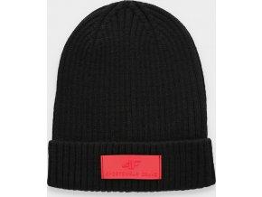 Dámska zimná čiapka 4F CAD204 Čierna