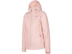 Dámska lyžiarska bunda 4F KUDN001 Svetlo ružová