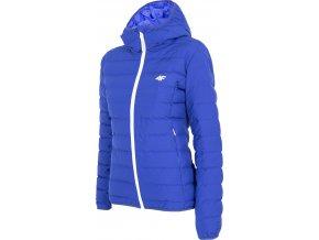 Dámská zimní bunda 4F KUDP006 Modrá