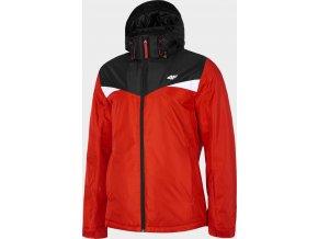 Pánská lyžařská bunda 4F KUMN071 Červená