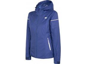 Dámska lyžiarska bunda 4F KUDN070 Modrá