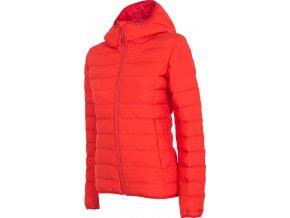 Dámská zimní bunda 4F  KUDP006 Červená