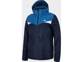 Pánská lyžařská bunda 4F KUMN071 Tmavě modrá