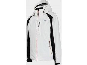 Dámska lyžiarska bunda 4F KUDN202 Biela