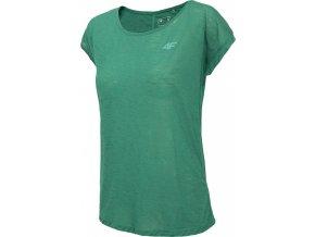 Dámské funkční tričko 4F TSDF282 Zelené
