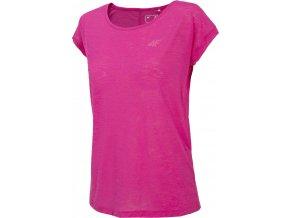 Dámské funkční tričko 4F TSDF282 Růžové