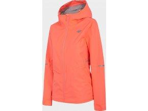 Dámska outdoorová bunda 4F KUD300 Ružová neon
