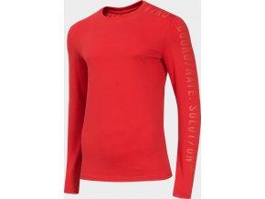 Pánské tričko 4F TSML070 Červené