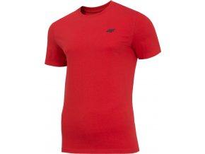 Pánské tričko 4F TSM070 Červené