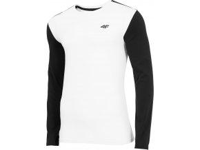 Pánské tričko 4F TSML071 Bílé